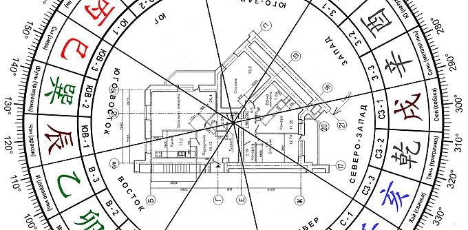 Разметка 24 гор для наложения на план
