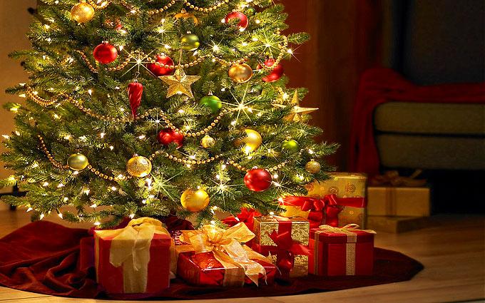 Новогодняя елка и прочие украшения по фен-шуй - 2017