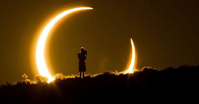 Затмения - лунное и солнечное