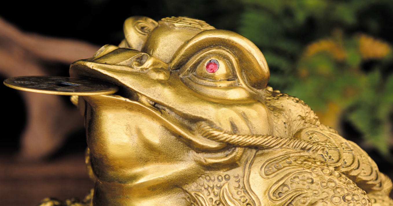 Денежная жаба vs Фен-шуй